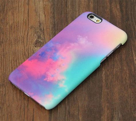 Iphone 5c Marble Blue Mix Yellow Cover Casing Hardcase pastel colorful cloud iphone 6s plus 5s 5c 5 4s dual layer tough 707 iphone 6 cases