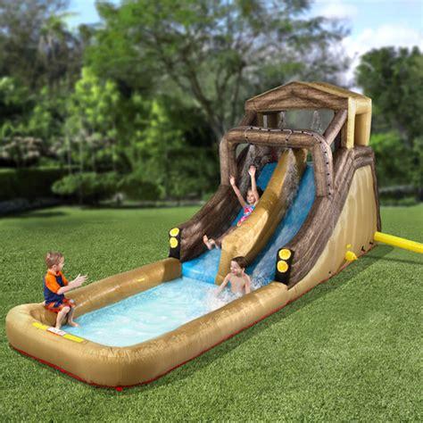 backyard inflatables inflatable backyard log flume