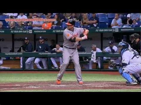 chris davis swing chris davis slow motion home run baseball swing hitting