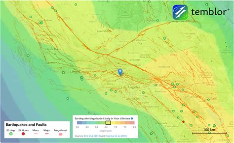 earthquake zones in california very real threat of earthquakes prompts los angeles