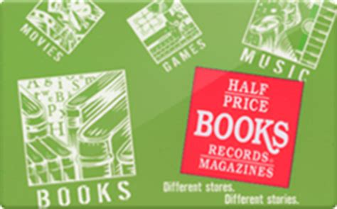 half price books gift card balance - Half Price Gift Cards