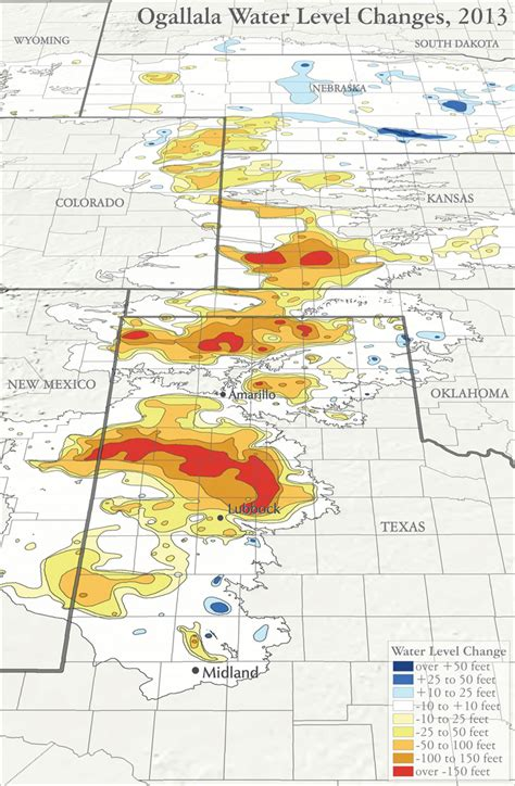 aquifer map texas maps ogallaladrawdown
