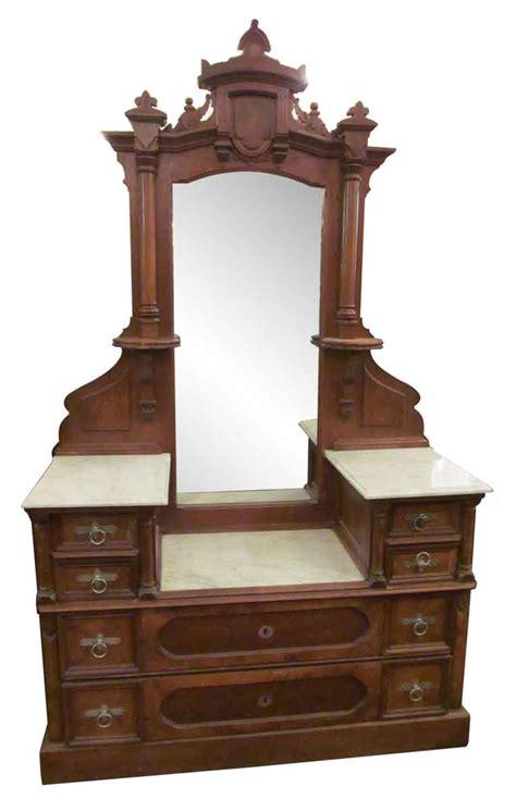 marble top dresser bedroom set emerald home furnishings riviera 9 eastlake carved walnut marble top vanity dresser olde
