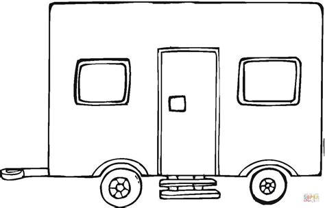 coloring pages of a truck trailer big trailer coloring page free printable coloring pages