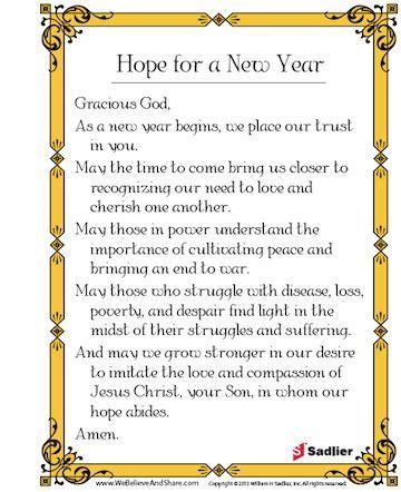 catholic prayer for new year new year prayer catholic