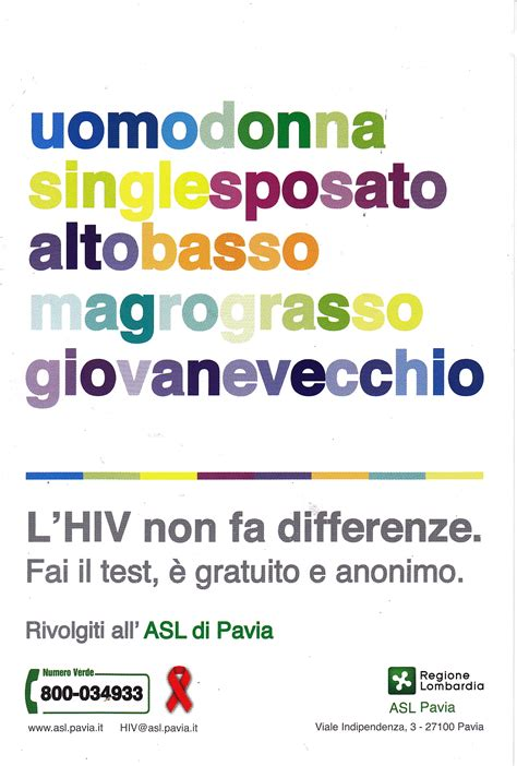test hiv pavia www coming aut it salute