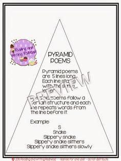 pyramid poem template the world s catalog of ideas