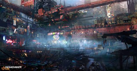 cyberpunk city concept environment sci fi concept art remember me concept art google search reference