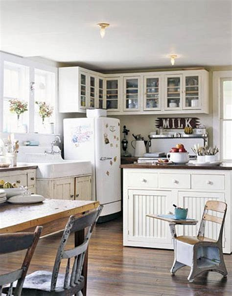 country chic kitchen ideas decorating with a vintage farmhouse inspiration