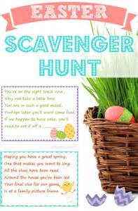 easter scavenger hunt how to plan the perfect easter egg hunt