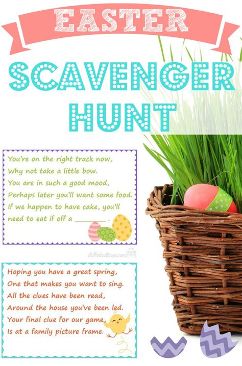 easter scavenger hunt easter scavenger hunt on pinterest scavenger hunt