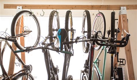 Bicycle Storage Rack by Diy Bike Storage Rack