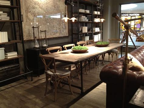 restoration hardware dining room tables restoration hardware flatiron table the parlor