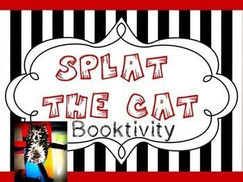 splat the cat template splat the cat booktivity freebie this is the template for