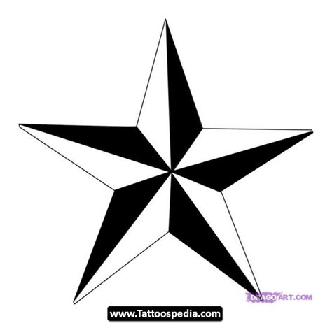 nautical star tattoo design ideas 02