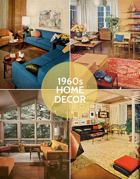 home decorating items mad men season 6 and 1960s decor