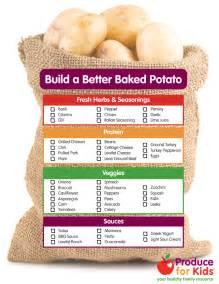 build a better baked potato produce for kids