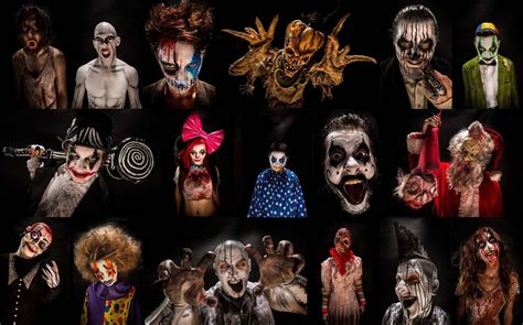 halloween collage hd wallpaper background image