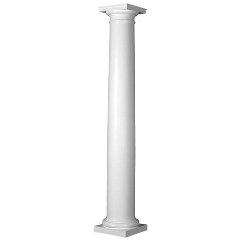 home columns endura stone column round shaft frp w true entasis