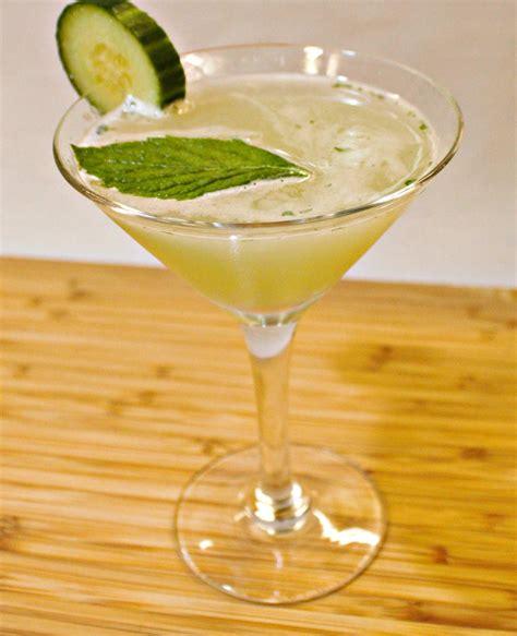 martini mint 6 crisp cucumber cocktails