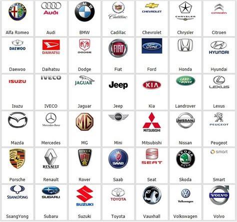 car names car names