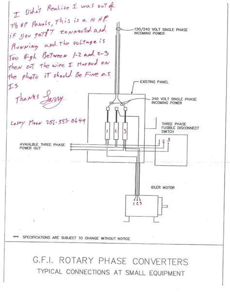 diagrams 1019767 rotary phase converter wiring diagram