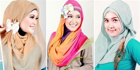 tutorial hijab dengan aksesoris kalung 5 aksesoris hijab untuk mempercantik penilan kumpulan