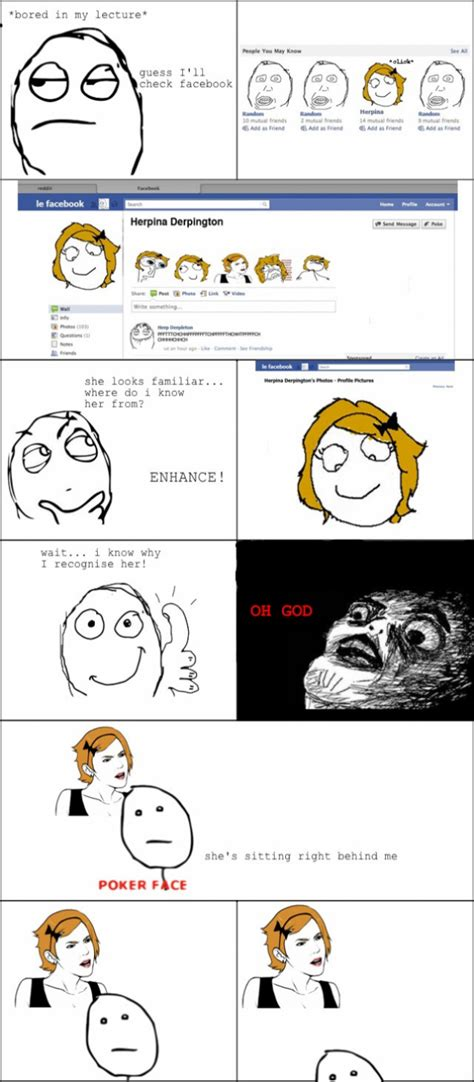 Meme Comic Facebook - checking facebook funny meme funny memes and pics