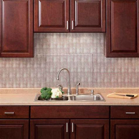 Stick On Backsplash Tiles For Kitchen Stick On Backsplash Stick On Backsplash Peel And Stick Kitchen With Regard To Backsplash Peel