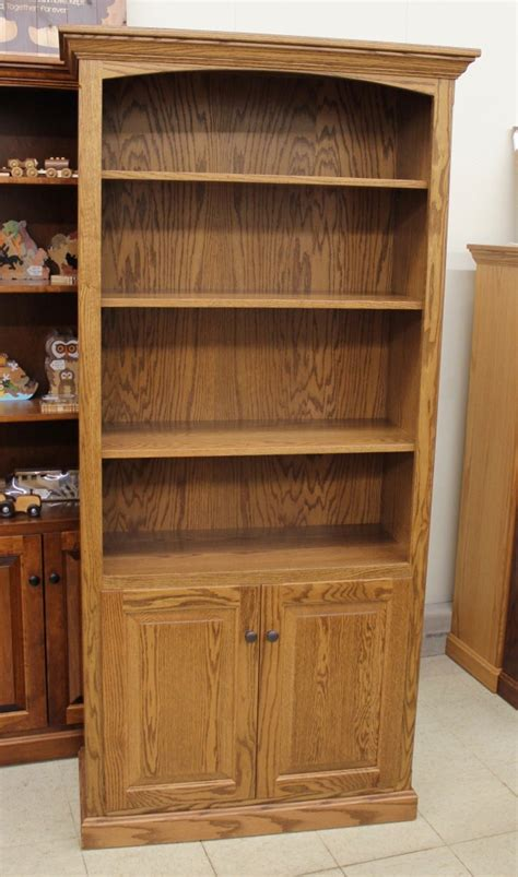 Wide Bookshelf With Doors 6 1 2 Deluxe Traditional Bookcase With Doors 37 1 2