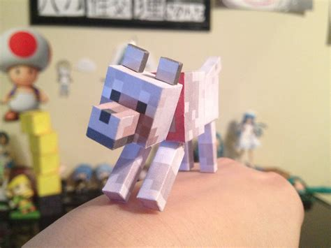 minecraft dogs minecraft papercraft by baaakalily on deviantart