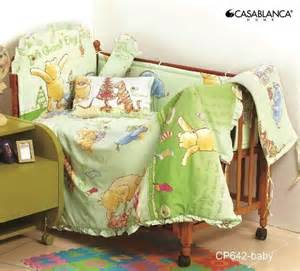 Disney Classic Pooh Crib Bedding Disney Classic Winnie The Pooh Cp642 Baby Crib 12pcs Bedding Set 330 Threads 10cm Squared