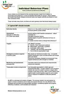 behaviour guidance plan template downloads behaviour advice