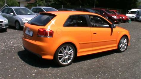 orange audi s3 2007 audi s3 2 0 tfsi quattro in lamborghini orange color
