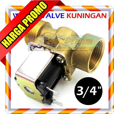 jual solenoid water valve  kuningan kran air gas