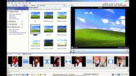 membuat video youtube cara membuat video dari foto dengan windows movie maker