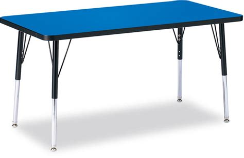 craft tables for adults jonti craft ridgeline kydz activity table blue top