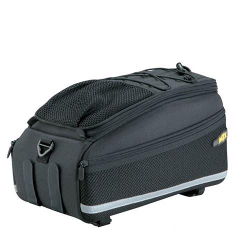 topeak trunk rack bag ex velcro probikekit uk