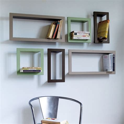 wall book shelves metal cd dvd or bookshelves contemporary display and