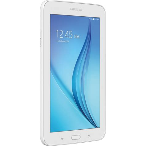 samsung 7 0 quot tab e lite 8gb tablet sm t113ndwaxar b h photo
