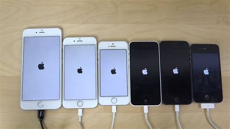 iphone 6 plus vs 6 vs 5s vs 5c vs 5 vs 4s ios 8 1 3 which is faster 4k