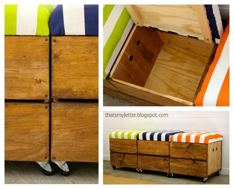 Rolling Stool With Storage by How To Build A Rolling Storage Seat Pretty Handy