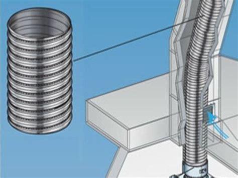 tubo per camino canna fumaria in acciaio inox flessibili per camini ala