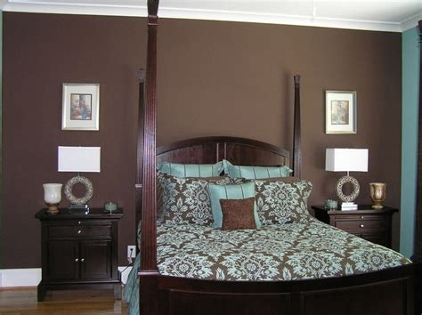 blue and brown walls another blue brown bedroom bedroom project pinterest