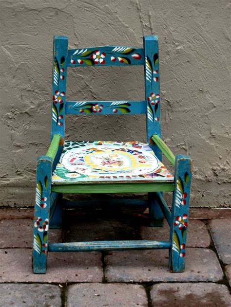 mexican painted chairs 17 best images about shelf design on antiques