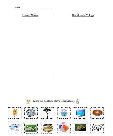 Pollination Worksheet Ks2 by Living Things Vs Non Living Things Worksheet Pbl