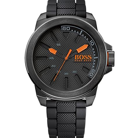 Hugo Boss Orange Men's New York All Black Watch 1513004   Hugo Boss Orange from British Watch