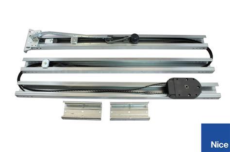 Garage Door Rails Spin40 A Actuator For Garage Door Rail 3x1m