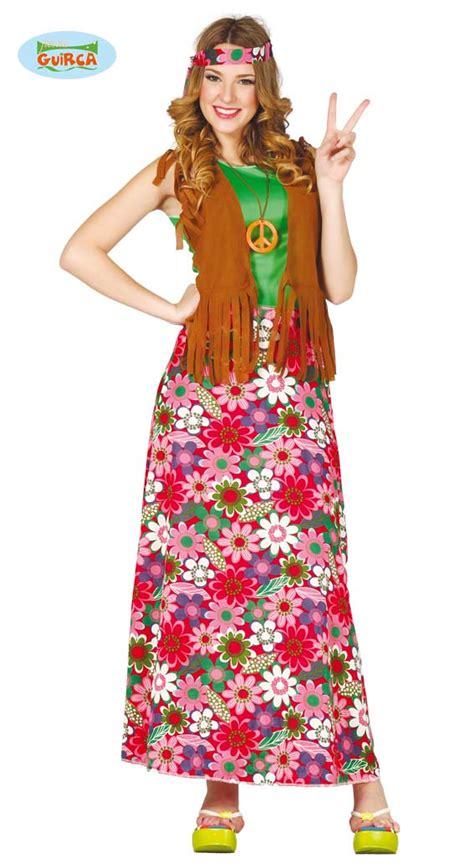 abbigliamento anni 60 figli dei fiori guirca costume hippie figlia dei fiori anni 70 carnevale