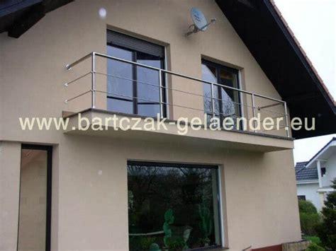 Balkongeländer Stahl Bausatz by Edelstahlgel 228 Nder Glas Au 223 En Und Innen Bausatz Zum Selber